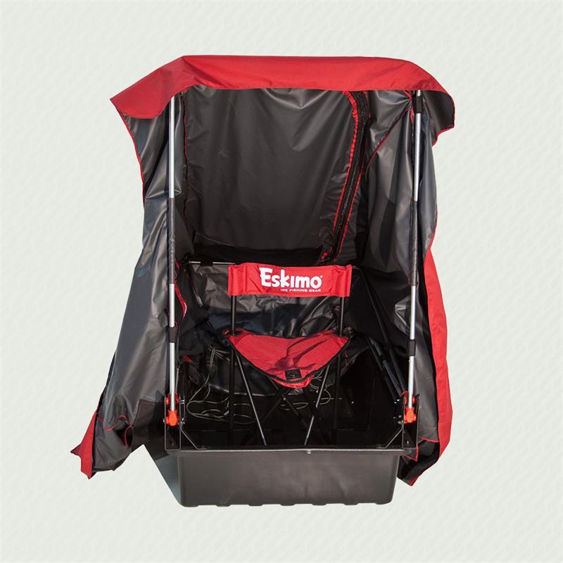 15300 Eskimo Quickflip 1 Man Towable Ice Shelter