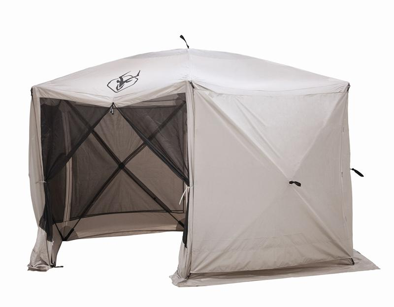 Portable Screen Tent : Gazelle portable screened gazebo canopy yard tent