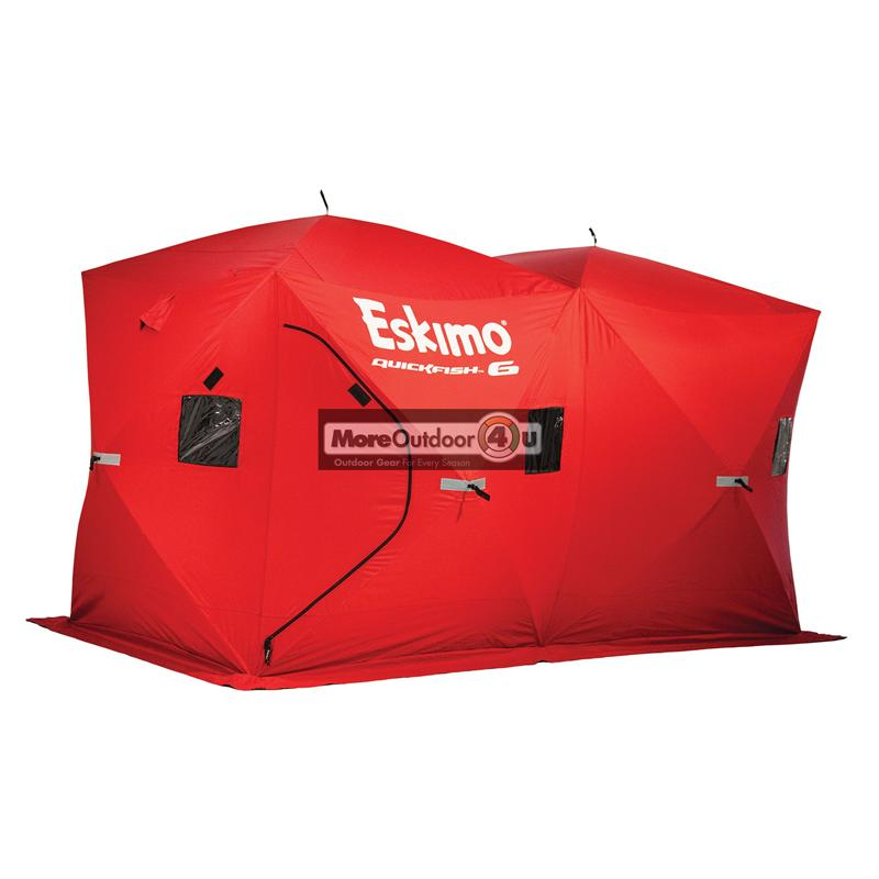 69149 eskimo quickfish 6 pop up portable ice shelter