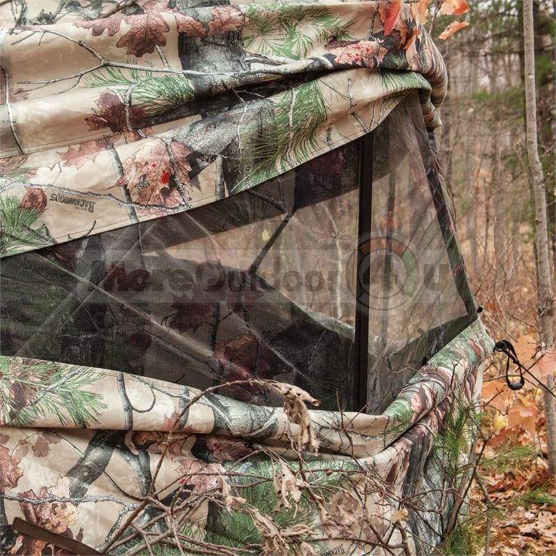 pictures grounder blends of exceptional into photo ground blinds x fall winter colors barronett blind great
