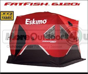 & FF6120i Eskimo Fatfish Insulated 6 Sided Ice Shelter